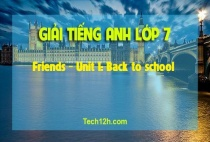 A – Friends - Unit 1: Back to school