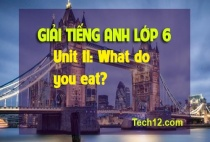 Unit 11: What do you eat?