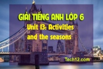 Unit 13: Activities and the seasons