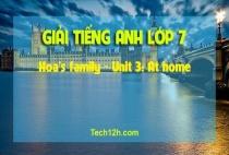 B - Hoa's family - Unit 3: At home
