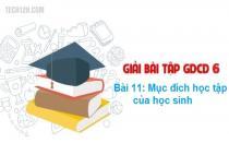 Bài 11: Mục đích học tập của học sinh