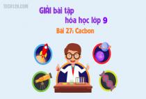 Bài 27: Cacbon