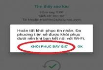 Hướng dẫn Xoá và khôi phục tin nhắn trên Whatsapp