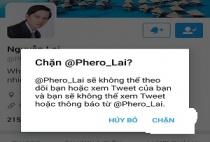 Hướng dẫn cách  chặn một ai đó trên Twitter