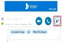 Cách tạo nhóm chat để trò chuyện với nhiều người trong Skype