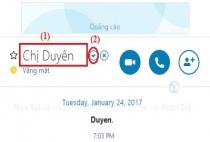 Cách đổi tên của bạn bè nhanh chóng trên Skype