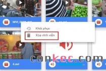 Cách xóa vĩnh viễn tệp tin trên Google Drive để giải phóng bộ nhớ