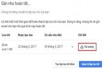 Cách sao lưu toàn bộ tài liệu trên Google Drive về máy tính
