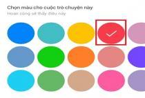 Cách thay đổi màu sắc mới mẻ cho khung chat Facebook