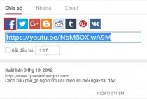 Hai cách đơn giản để chèn video trên youtube lên trang Fanpage Facebook