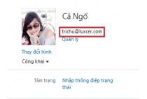 Cách xem tài khoản của mình trong Skype