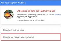 Hướng dẫn cách xóa vĩnh viễn kênh Youtube của bạn
