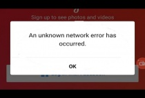 "Instagram dính lỗi ""An Unknown Network Error has Occurred"" phải xử lý thế nào?"