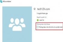 Hướng dẫn tắt thông báo và ẩn nhóm chat trong Skype