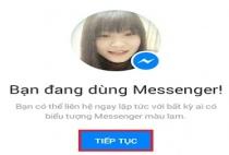 Cách chát với một người bạn nào đó trên Messenger