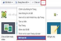 Cách mời người khác like Fan page FB của mình
