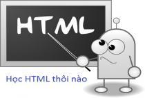Học HTML - Giới thiệu về HTML