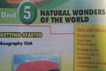 Getting started - Unit 5: Natural wonders of the world