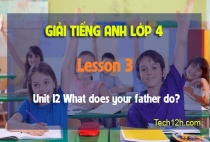 Unit 12 What does your father do? - Lesson 3