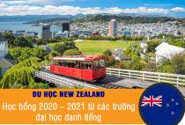 Học bổng New Zealand 2020-2021