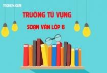 Soạn văn bài: Trường từ vựng