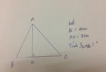 Cách tính diện tích, chu vi hình tam giác – công thức cần biết