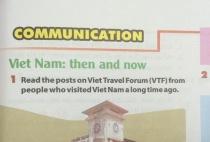 Communication - Unit 6: Vietnam: Then and now