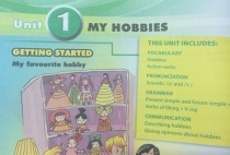 Getting started - Unit 1: My hobbies