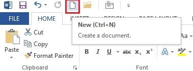 Các thao tác thiết lập văn bản nhanh chóng trên Word 2013