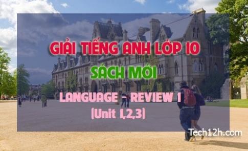 LANGUAGE REVIEW 1