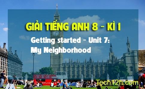 Getting started - Unit 7: My neighborhood