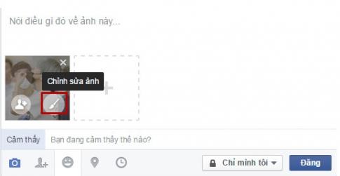 Cách chèn biểu tượng ngộ nghĩnh vào ảnh trên Facebook