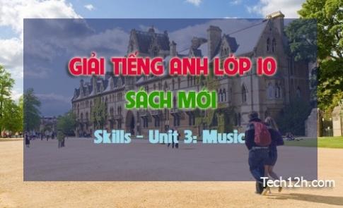 Skills - Unit 3: Music