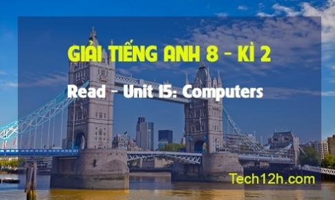 Read - Unit 15: Computers