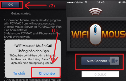 Biến smartphone của bạn thành chuột máy tính với wifi mouse