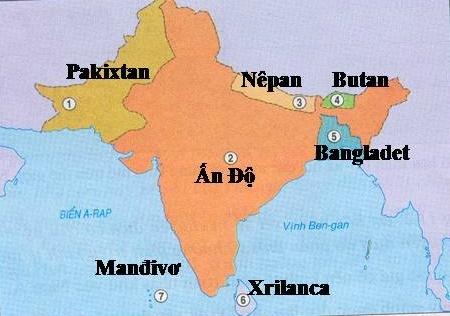 Bài 11: Dân cư và đặc điểm kinh tế khu vực Nam Á