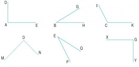 anh 5 goc vuong - Giải bài tập Toán lớp 3 bài Góc vuông, góc không vuông