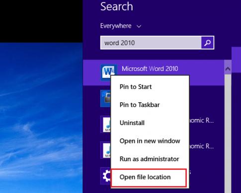 Cách đưa các biểu tượng Icon ra màn hình destop trong Win 8, Win10
