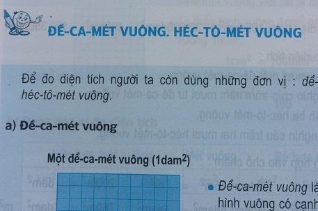 Giải bài đề ca mét vuông, héc tô mét vuông - sgk toán 5 trang 25