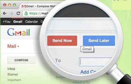Hướng dẫn hẹn giờ gửi thư trong Gmail