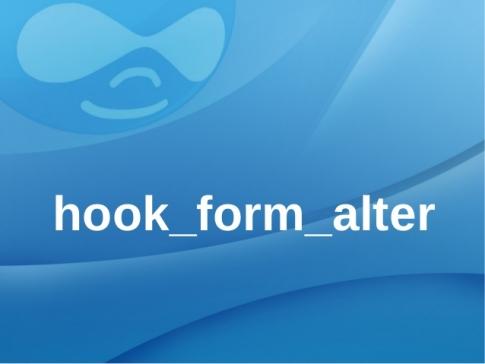 Hướng dẫn sử dụng hook_form_alter trong drupal - Tech12h