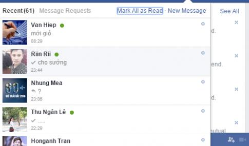 Làm thế nào để tắt chế độ đã xem tin nhắn trên Facebook