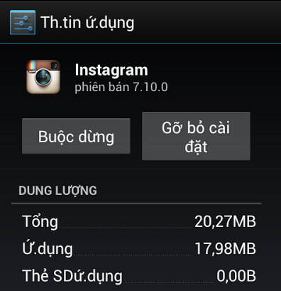 Cách gỡ bỏ ứng dụng  trên điện thoại dùng hệ điều hành Android
