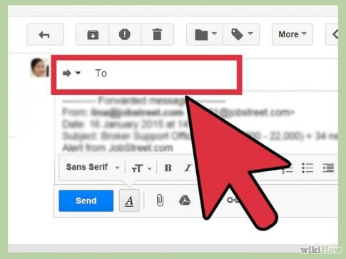 Cách chuyển tiếp thư trong Gmail