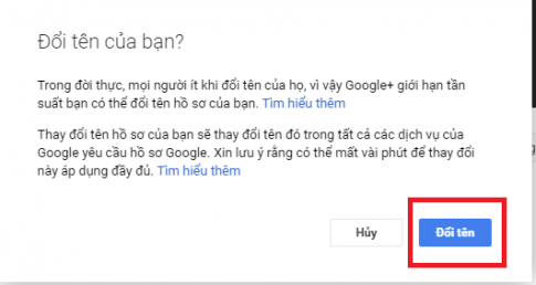 Hướng dẫn cách đổi tên cho toàn bộ các tài khoản Google