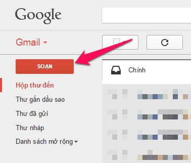 Hướng dẫn soạn email mới trong Gmail