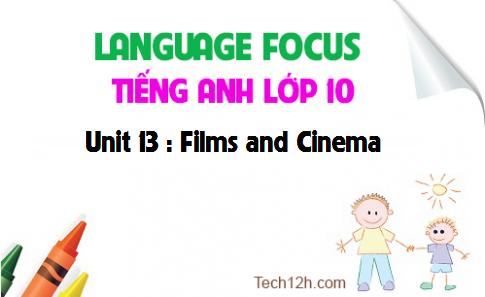 Language focus - Unit 13 : Films and Cinema
