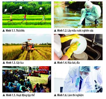 [Chân trời sáng tạo] Giải khoa học tự nhiên 6 bài 1: Giới thiệu về khoa học tự nhiên