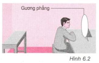 Giải bài 6 vật lí 7: Thực hành: Quan sát và vẽ ảnh của một vật tạo bởi gương phẳng